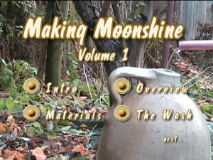 Volume 1 - Making Moonshine at Home